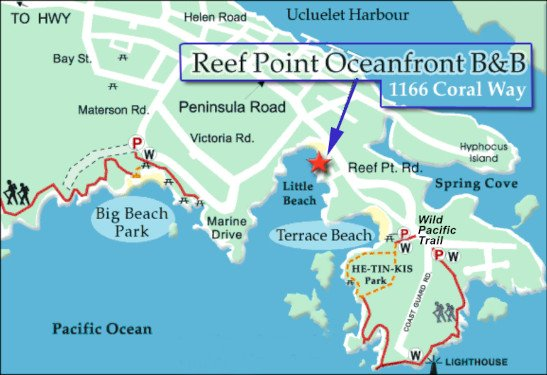Reef Point BB Location Map