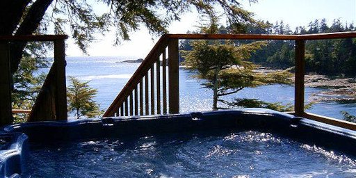 Reef Point Oceanfront BB Hot Tub