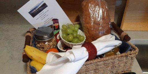 Reef Point Oceanfront BB Sea Mist Suite Breakfast Basket1