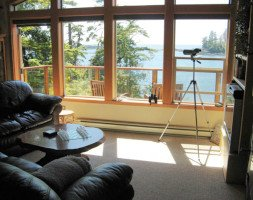 Sunset Room with Access to Great Room at Reef Point Oceanfront B&B